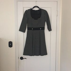 White House Black Market fit and flair dress